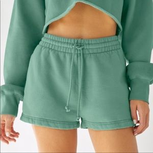 Small, Aritzia TNA, black cozy sweater shorts